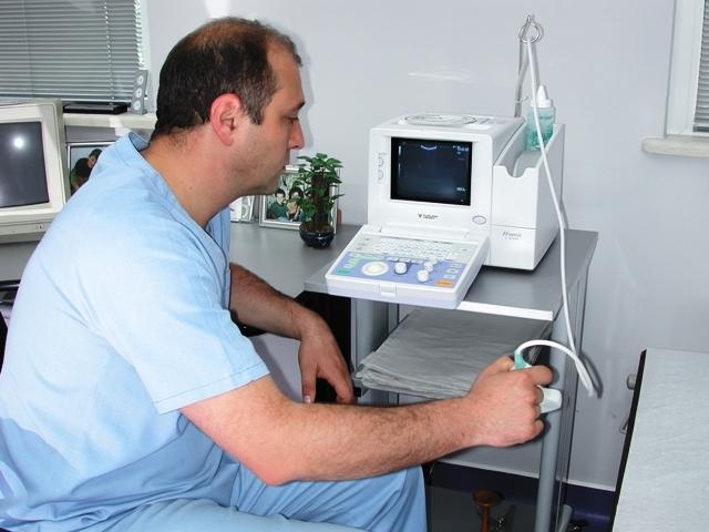 """Снимка от гинекологичен кабинет, медицински център """"Д-р Домусчиеви"""""""
